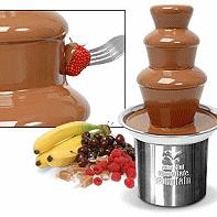 fontana di cioccolato per feste ed eventi