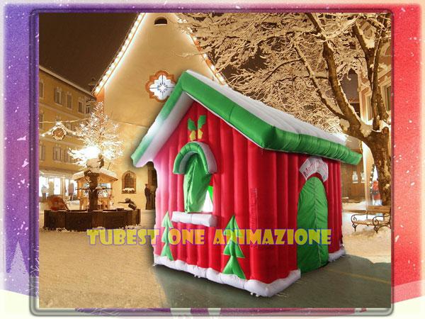 Casetta Di Natale Gonfiabile : Animazione con babbo natale per bambini da u20ac90 roma tubest one