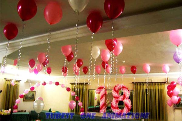 Palloncini a elio da decorazioni straordinare con for Decorazioni per feste