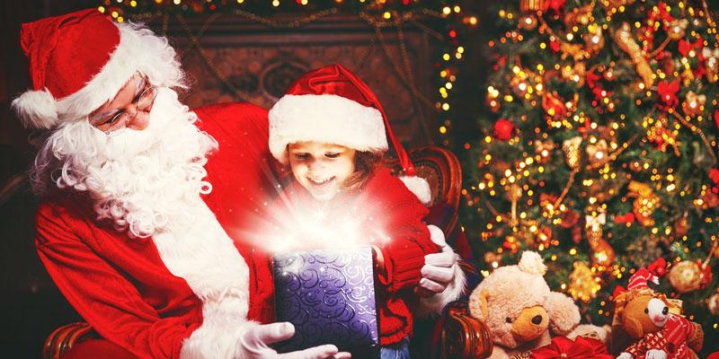 Animazione con Babbo Natale Renne e Folletti per bambini