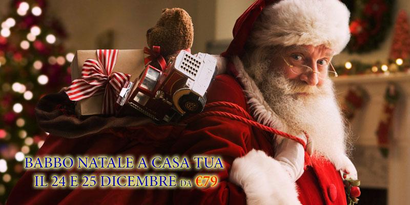 Babbo Natale a casa 24 e 25r dicembre