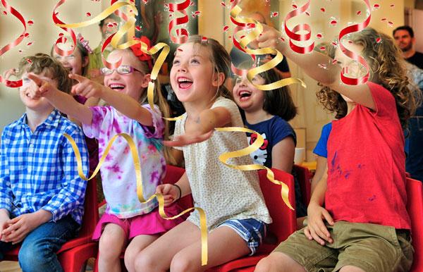 animatori per bambini di 5-6 anni con grande esperienza di feste