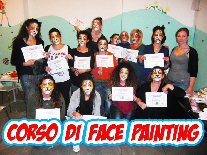 Corso di face painting Roma