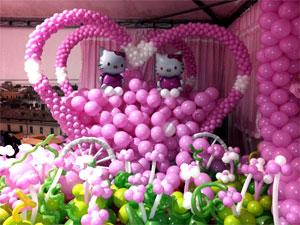 corso di decorazione con palloncini
