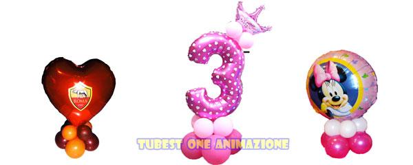 Decorazione compleanno con palloncini a tema
