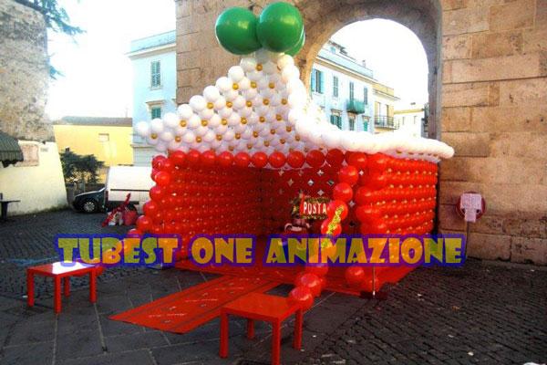 casetta-di-palloncini-per-natale