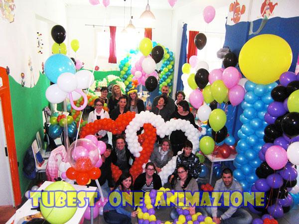 Corso di allestimento con palloncini