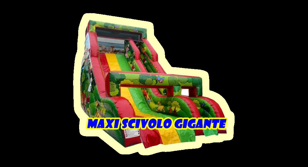 gonfiabile maxi scivolo gigante
