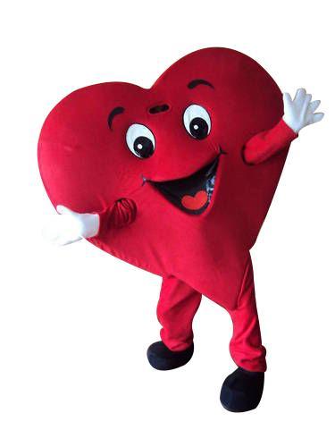 mascotte cuore