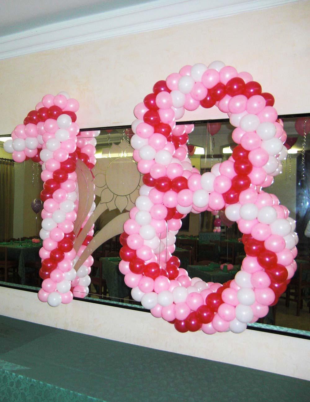 18 di palloncini intrecciati