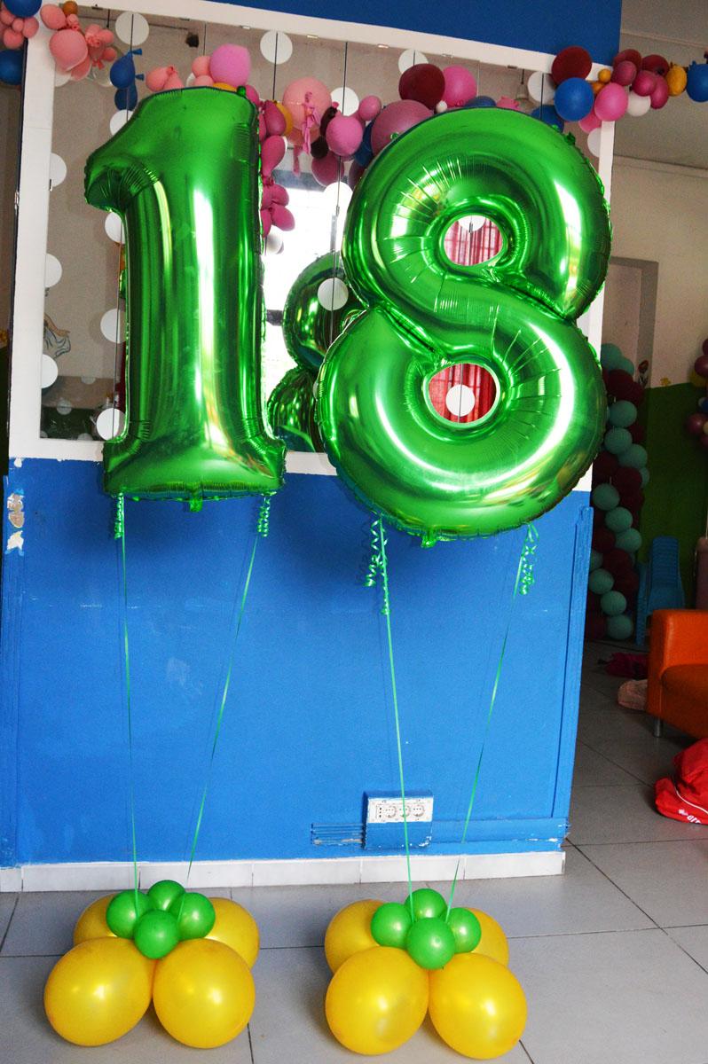 18 di palloncin a elio