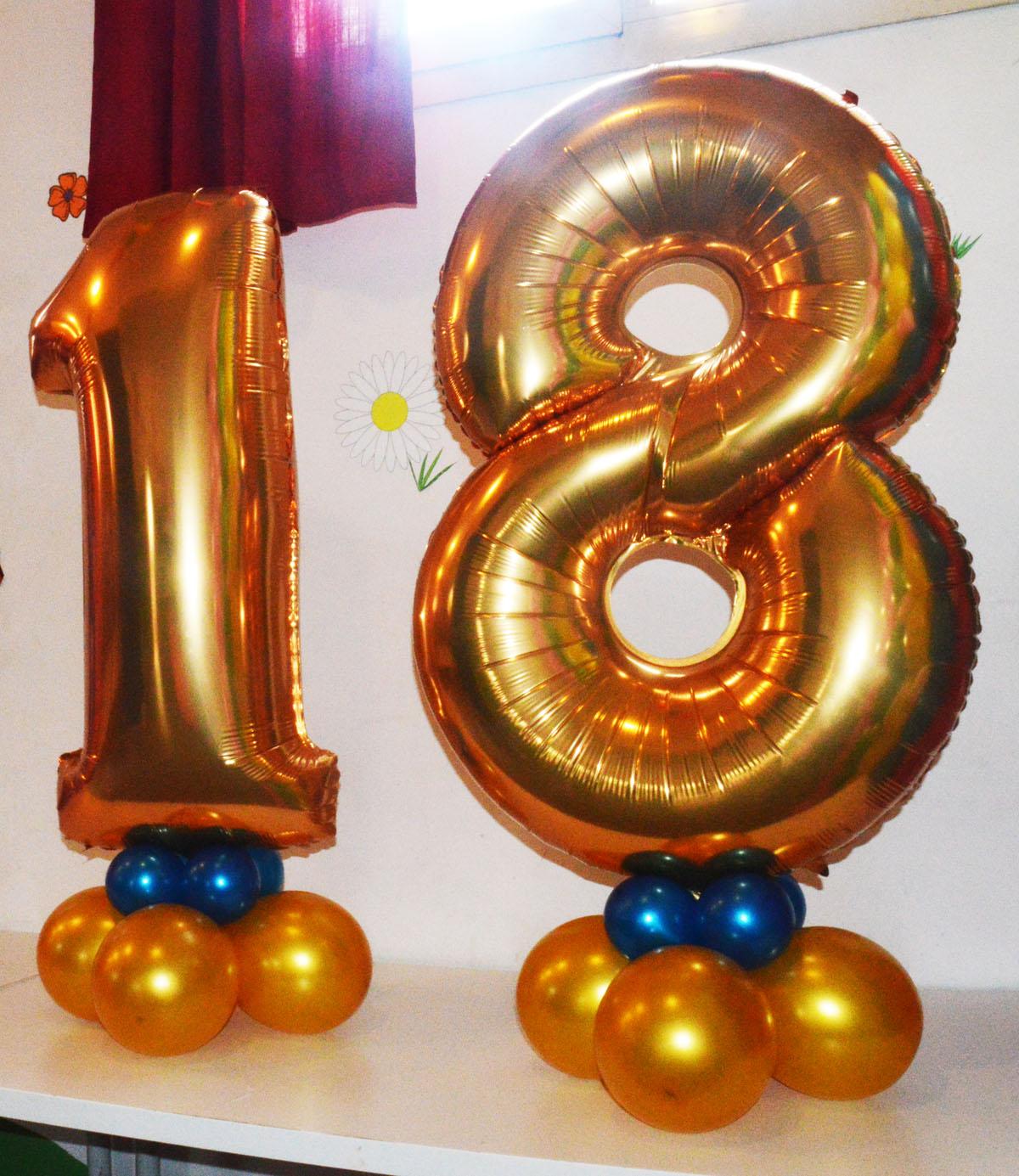 18 di palloncini da tavolo 120cm