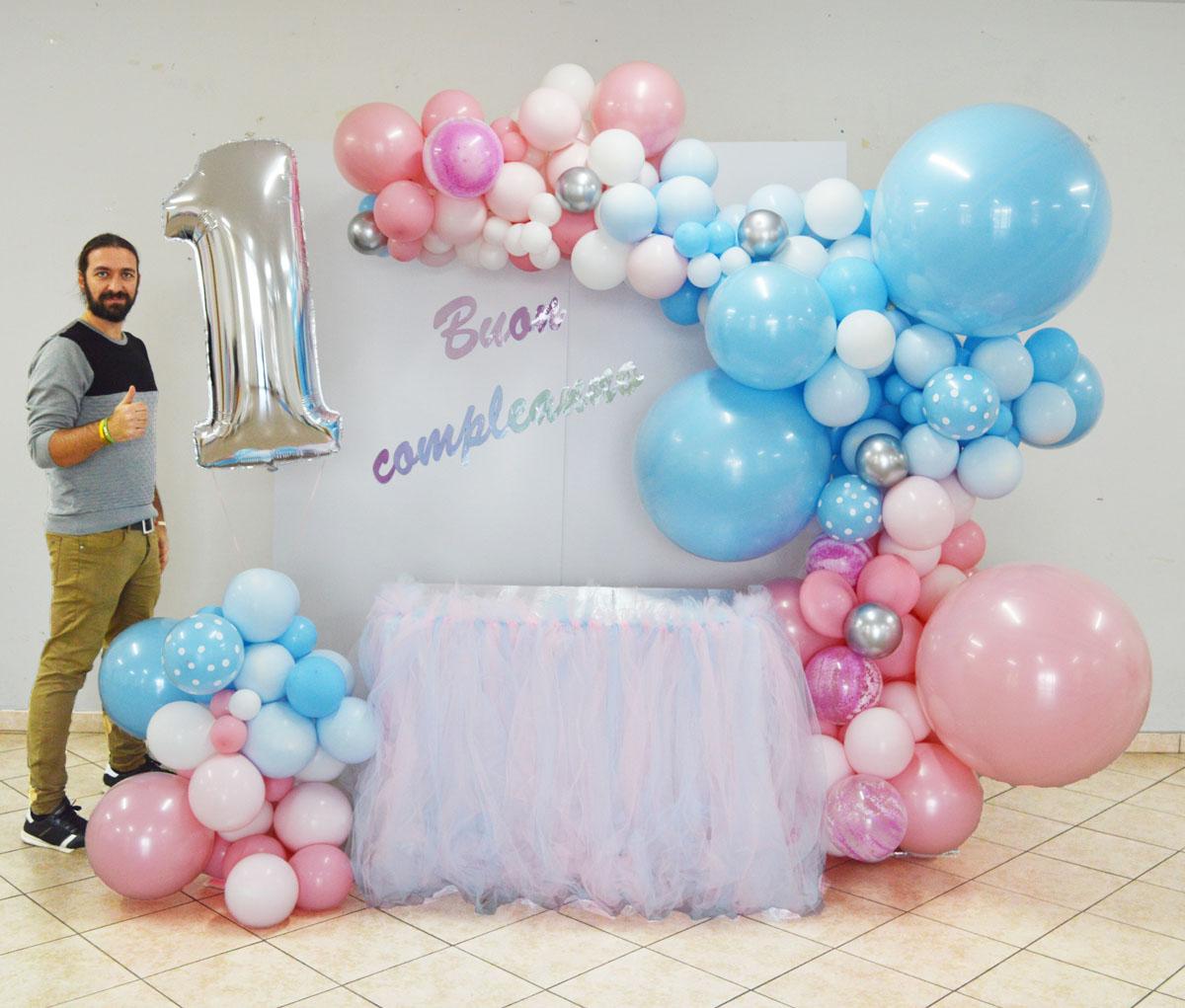 Semiarco organic corso balloon art Organic