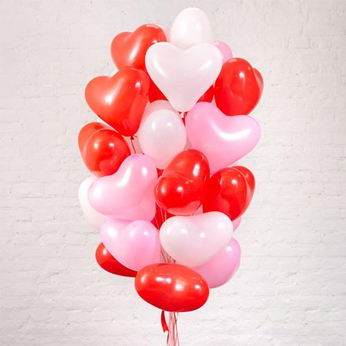 palloncini a elio 12 pollici a forma di cuore
