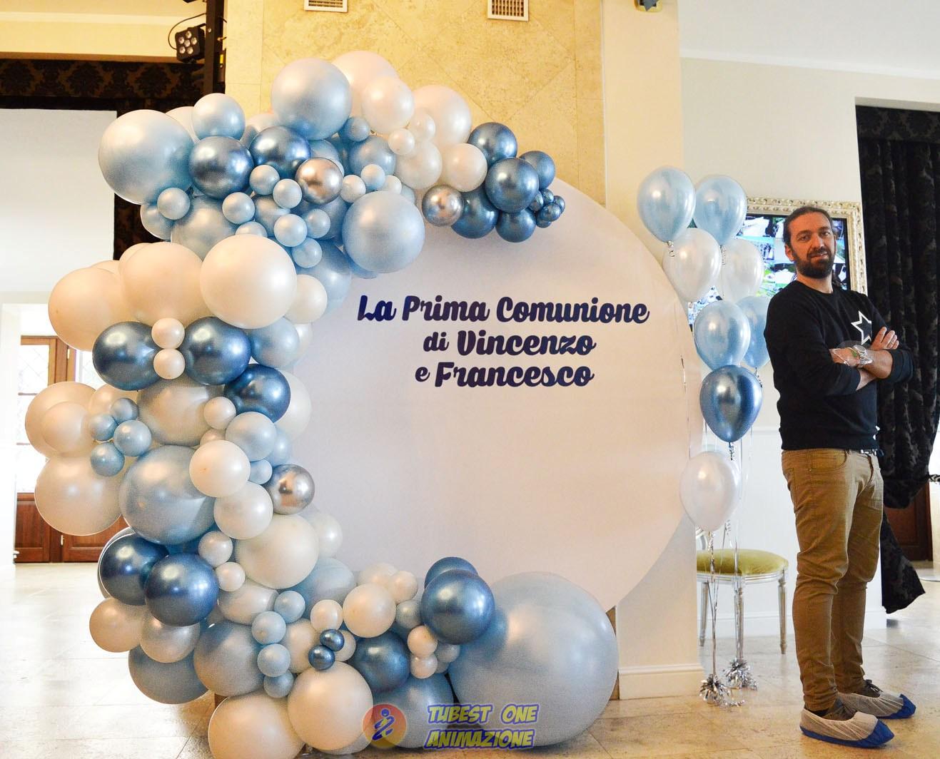Corso Balloon art per realizzare semicerchio di palloncini stile Organic