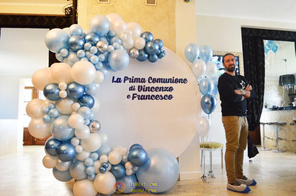 Decorazione palloncini comunione a Roma Ciampino e dintorni