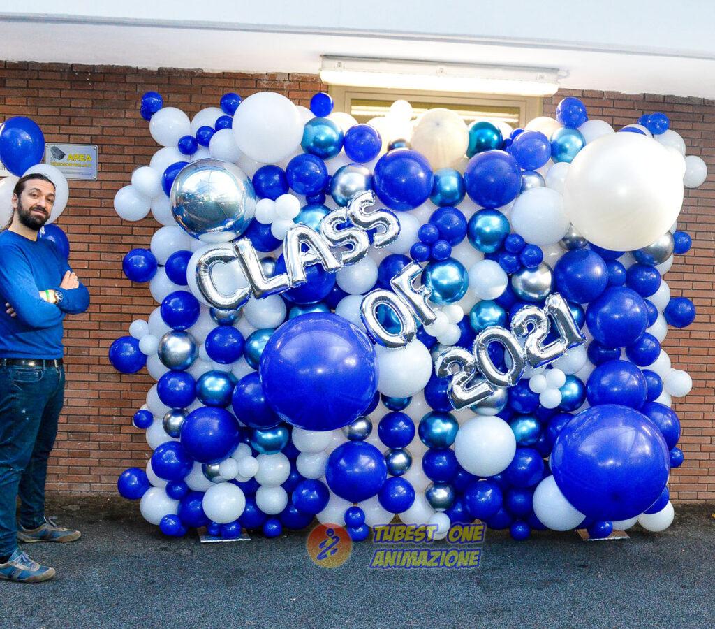 animazione eventi con straordinarie scenografie di palloncini