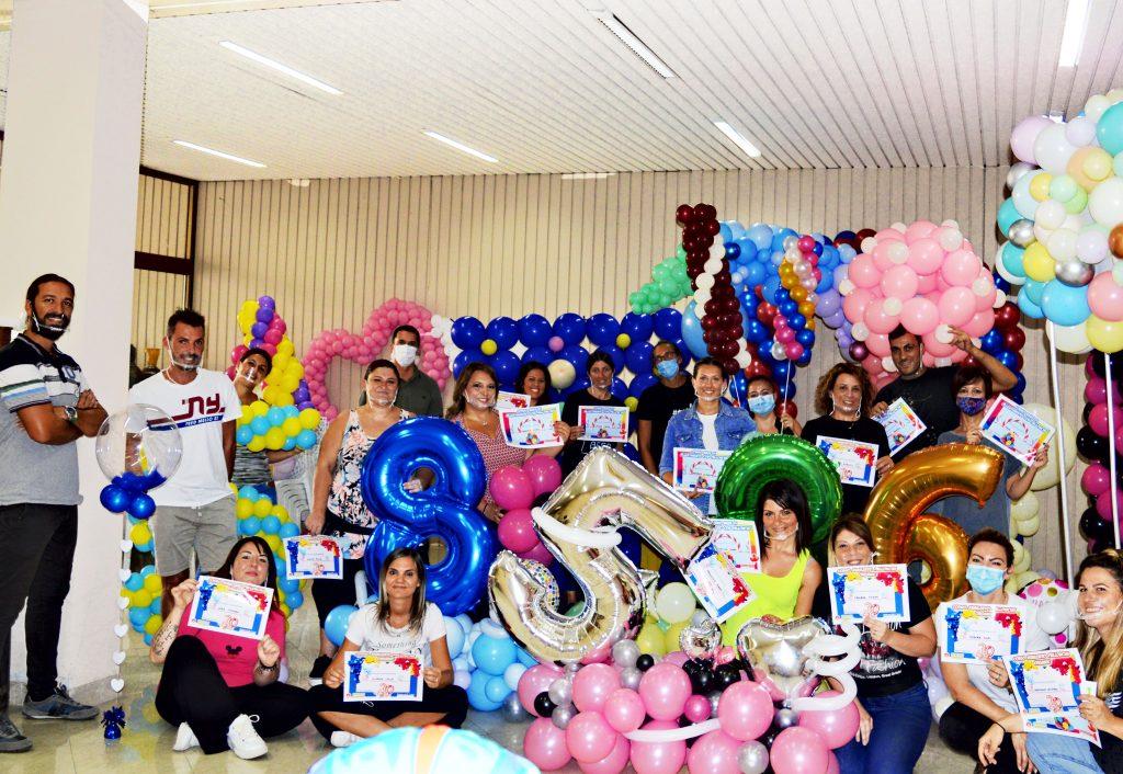 Corso di Balloon art con il balloon artist Alessandro Vitale