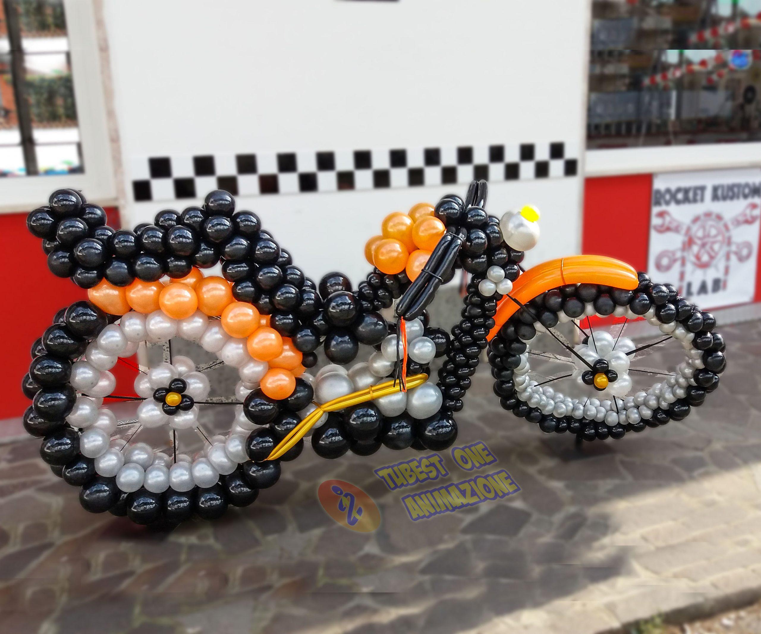 Moto di palloncini per feste ed eventi